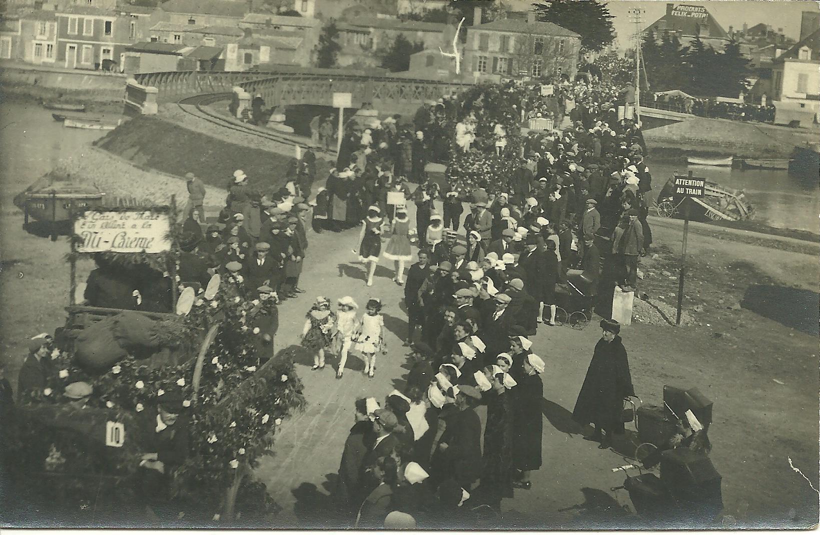 Saint-Gilles-Croix-de-Vie, fête de la Mi-Carême