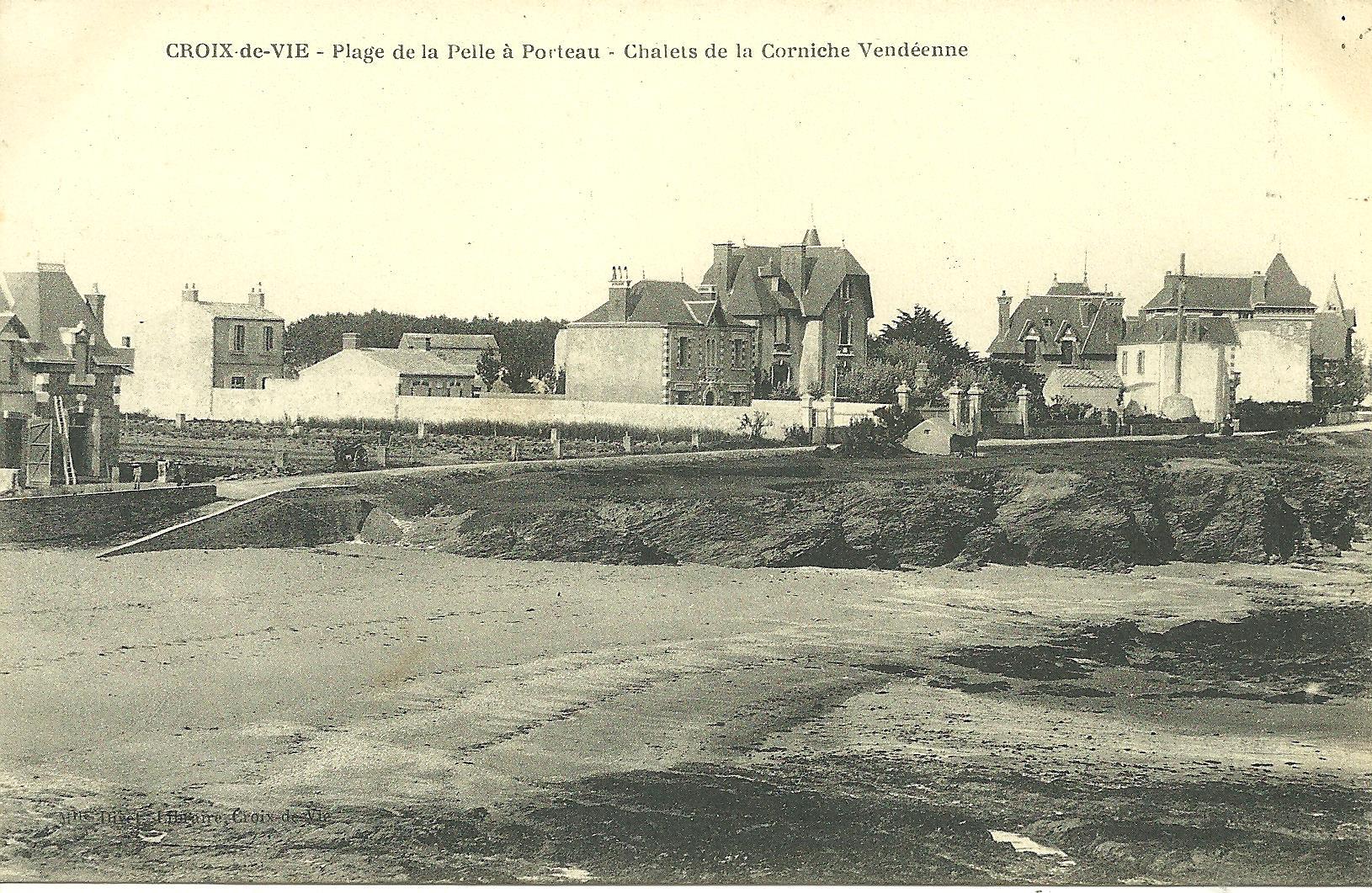 Croix-de-Vie, la corniche, villa Lucia