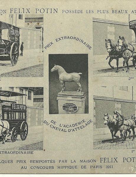 Histoire magasin Félix potin Saint-Gilles et Croix-de-Vie