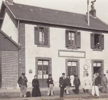 Croix-de-Vie, la gare