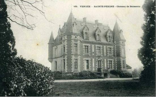 Ste Pexine, château de Boissorin.