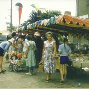 Croix-de-vie, le marché.
