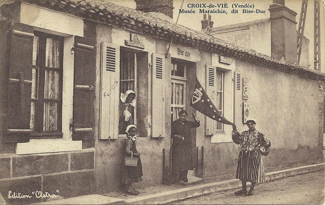 Croix-de-Vie, musée maraichin dit Bise-Dur.
