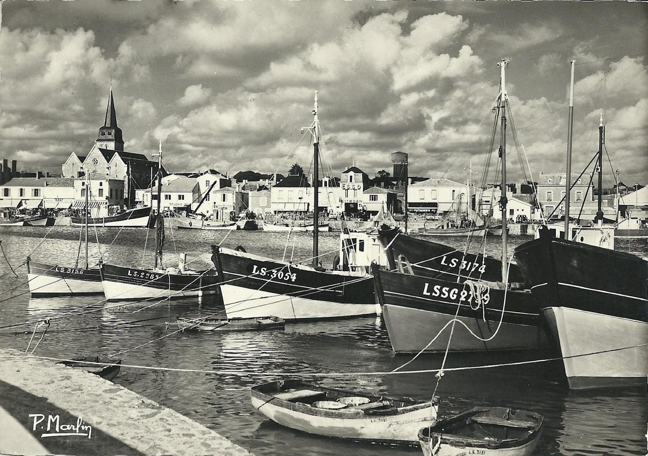 St-Gilles-sur-Vie, le port.