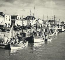 St-Gilles-sur-Vie, quai du port Fidèle.