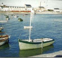 Croix-de-Vie, vue sur le port.