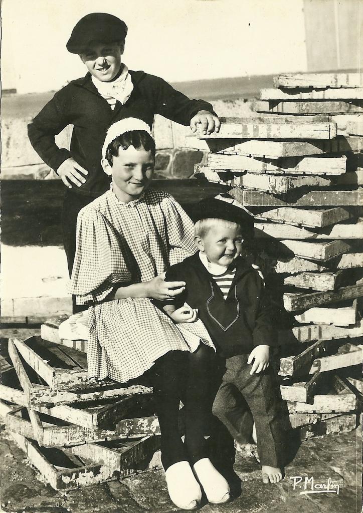 St-Gilles - Croix-de-Vie, enfants du groupe Bise-Dur.