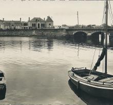 St-Gilles-sur-Vie, le pont sur la Vie.
