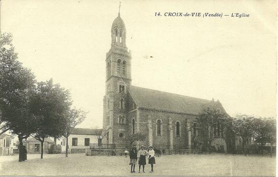 Croix-de-Vie, l'église.