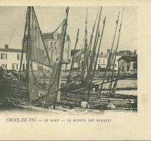 Croix-de-Vie, le retour des barques.