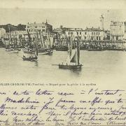 St-Gilles-Croix-de-Vie, départ pour la pêche.
