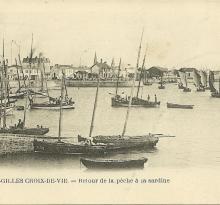 St-Gilles-Croix-de-Vie, retour de la pêche.