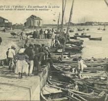 Croix-de-Vie, en arrivant de la pêche.