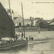 Croix-de-Vie, barque bretonne.