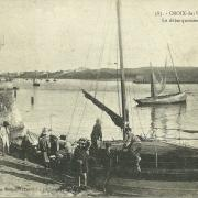 Croix-de-Vie, le débarquement de la sardine.