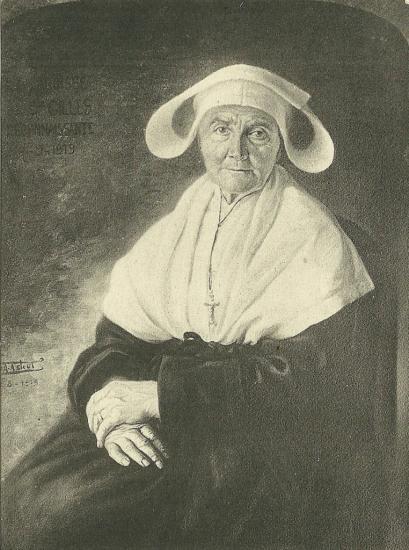 St-Gilles-Croix-de-Vie, la soeur St Sulpice.
