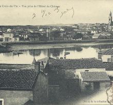 Panorama de Croix-de-Vie, prise de l'hôtel du château.