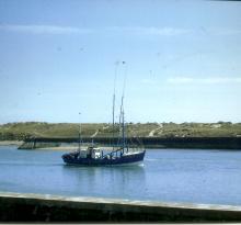 Croix-de-Vie, le port et la dune de la Garenne.