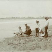 St-Gilles-sur-Vie, la plage.