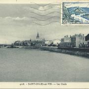 St-Gilles-Croix-de-Vie, les quais.