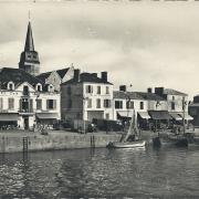 Le quai de St-Gilles-sur-Vie,.
