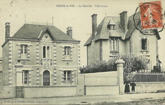 Croix-de-Vie, villas La Paisible, villa Lucia.
