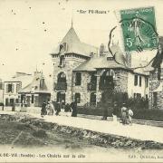 Croix-de-Vie, Ker Pil-Hours, chalets de la côte.