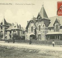 Croix-de-Vie, chalets de la grande côte.