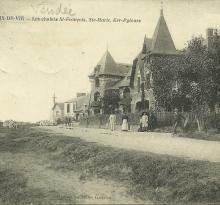 Croix-de-Vie, les chalets de la corniche.