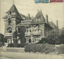Croix-de-Vie, villa Pil-Hours en face de la plage.