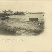Croix-de-Vie, la plage.