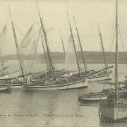 Croix-de-Vie, arrivée des bateaux sardiniers.