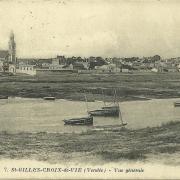 St-Gilles-Croix-de-Vie, vue générale.