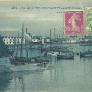 Port de St-Gilles-Croix-de-Vie.