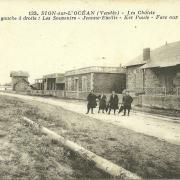Sion-sur-l'Océan, les chalets.