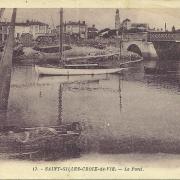 St-Gilles-Croix-de-Vie, le pont.