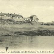 St-Gilles-Croix-de-Vie, les chalets de la côte de Sion.