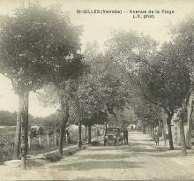 St-Gilles-sur-Vie, avenue de la plage.