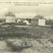 St-Gilles-sur-Vie, les chalets.