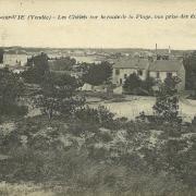 St-Gilles-sur-Vie, les chalets route de la plage.