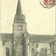 St-Gilles-sur-Vie, l'église.