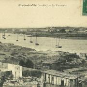 St-Gilles-Croix-de-Vie, le panorama.