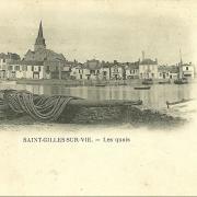 St-Gilles-sur-Vie, les quais.