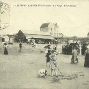 St-Gilles-sur-Vie, la plage et les casinos.