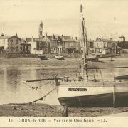 Croix-de-Vie, vue sur le quai Gorin.
