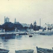 St-Gilles-Croix-de-Vie, le port et le quai Gorin.