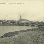St-Gilles-sur-Vie, le pont vu du quai de Croix-de-Vie.