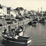 St-Gilles-Croix-de-Vie, le quai et le port.