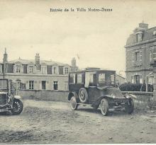 St-Gilles-sur-Vie, entrée de la villa Notre-dame.