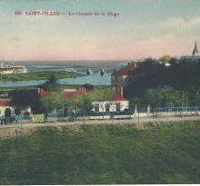 St-Gilles-sur-Vie, le chemin de la plage.